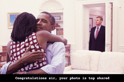 Obama - Top Shared Photo
