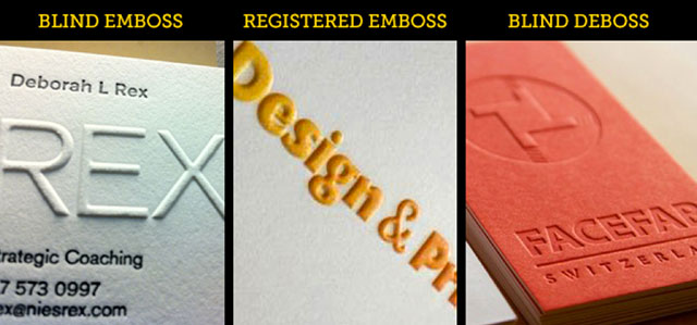 Registered Emboss