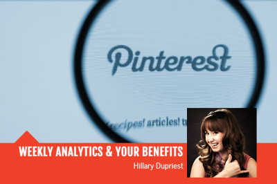 Weekly Pinterest Analytics