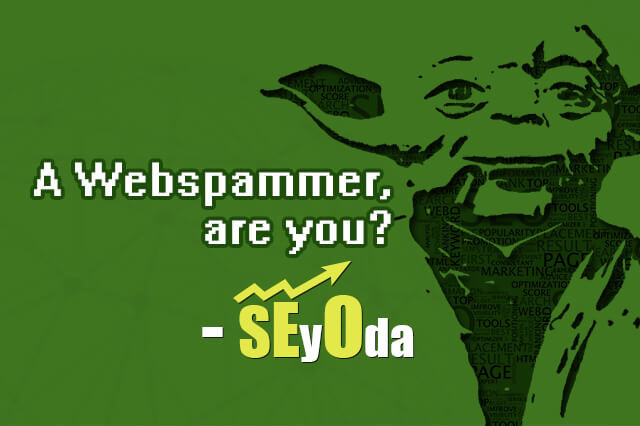Are you a Webspammer?