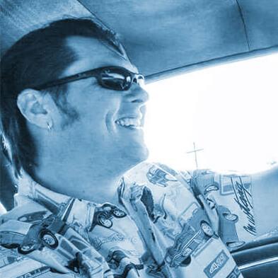 Blake driving